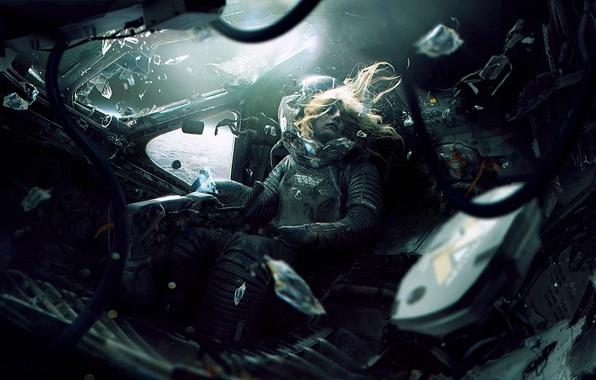 Picture space, death, fiction, planet, the suit, orbit, cabin, pilot, aliens, alien, astronaut, wayland-eaters, Weyland-Yutani Corporation