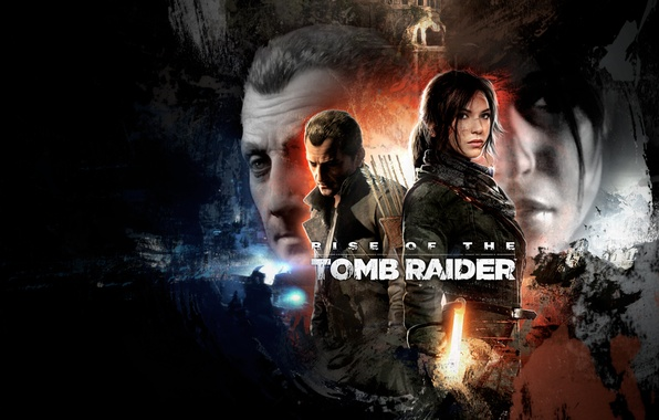 Picture girl, male, lara croft, tomb raider, poster, fan art, rise of the tomb raider, Ascension …