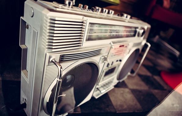 Photo wallpaper radio, receiver, background
