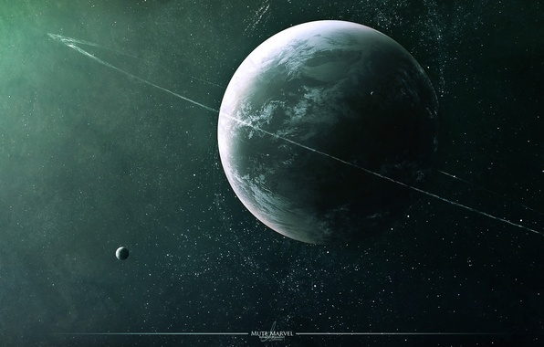 Picture space, planet, stars, space, stars, planet