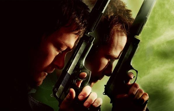 Picture gun, weapons, male, guns, Boondock saints, Boondock Saints II