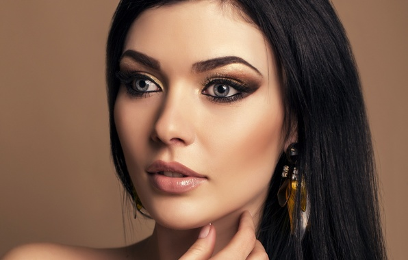 earrings girl hair makeup - photo #26