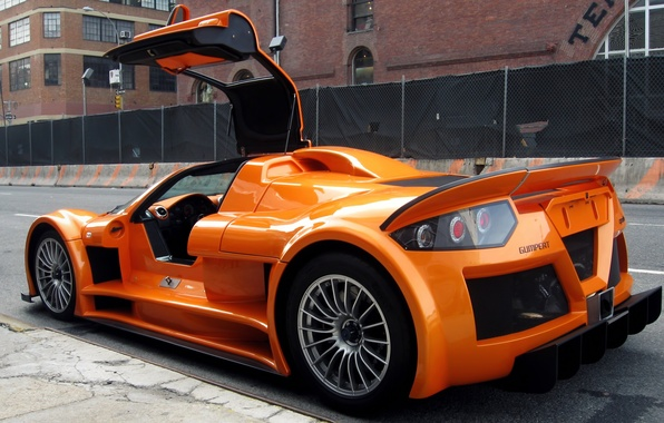 Picture orange, Gumpert, drives, Apollo