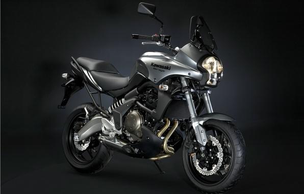 Picture black, Kawasaki, versys