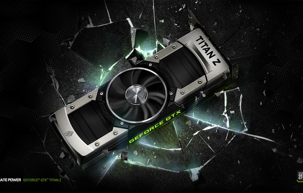 Picture GTX, Nvidia, GeForce, Titan Z