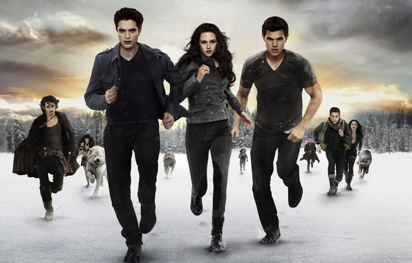 Picture Kristen Stewart, Robert Pattinson, Black, movie, screen, room, Twilight, Taylor Lautner, Edward, hd wallpaper, Jacob, …