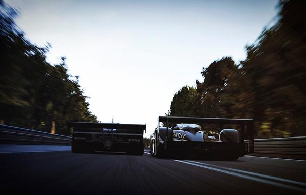 Picture speed, track, Bentley