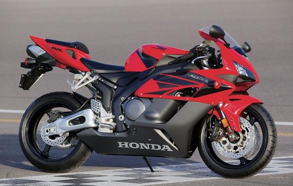 Picture red, Honda, CBR1000RR, Sport, Superbike