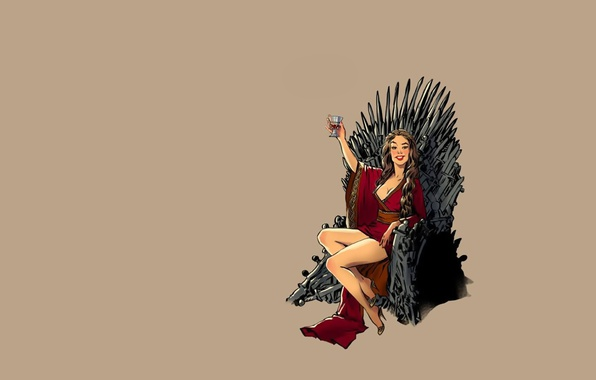 Game Of Thrones Minimalist Wallpaper: Wallpaper Fantasy, Vintage, Pinup, Minimalism, Background