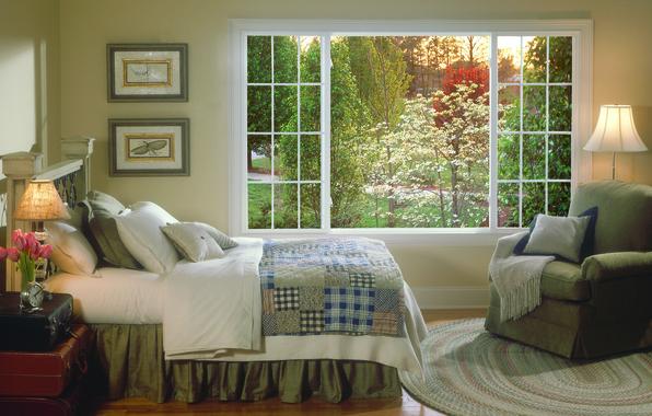 Picture design, house, style, Villa, interior, cottage, bedroom, Fazenda