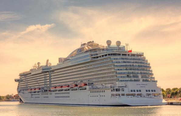 Picture photo, ship, cruise liner, Royal Princess