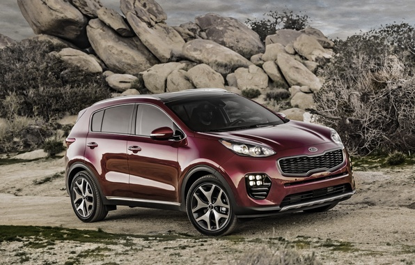 Photo wallpaper Kia, Sportage, Kia, crossover, sportazh