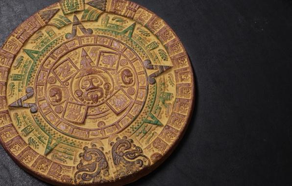 Picture background, pattern, round, the Aztecs, calendar, Aztec Calendar, Shem