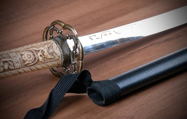 Picture pattern, Japan, sword, art, Katana, Katana, arm
