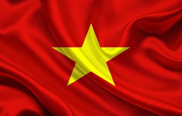 Picture Flag, Vietnam, Democratic, Republic
