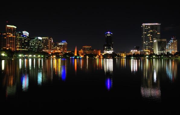 Photo wallpaper Orlando, the city, USA, city, Florida - Wallpaper Orlando, The City, USA, City, Florida Images For Desktop