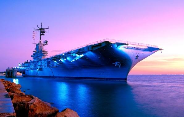 """Picture the carrier, American, of the """"Essex"""", The Body Of Christ (Texas), USS Lexington, (CV-16), Corpus …"""