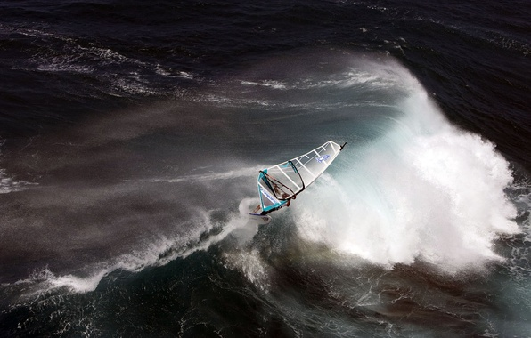 Picture The OCEAN, EXTREME, ELEMENT, WAVE, SURFER, SAIL