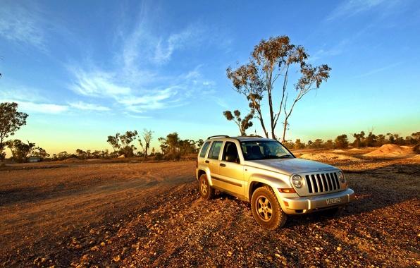 Picture SUV, car, Jeep Cherokee, KJ Lightning Ridge