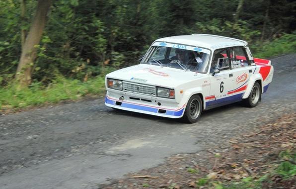 Picture rally, tuning, vaz, VAZ, lada, Lada, 2105, racing