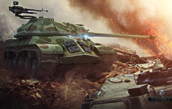Picture world of tanks, is-3, CCCP