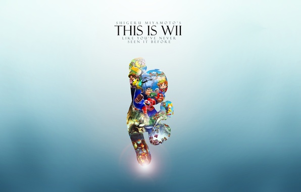 Picture Mario, Wii, Wii, Console, This Is Wii, Mario
