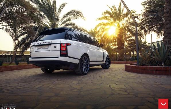 Picture machine, auto, Palma, wheels, Land Rover, drives, auto, feed, Vossen Wheels