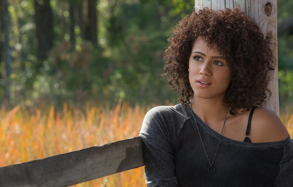 Picture girl, curls, Ramsey, Fast and furious 7, Nathalie Emmanuel