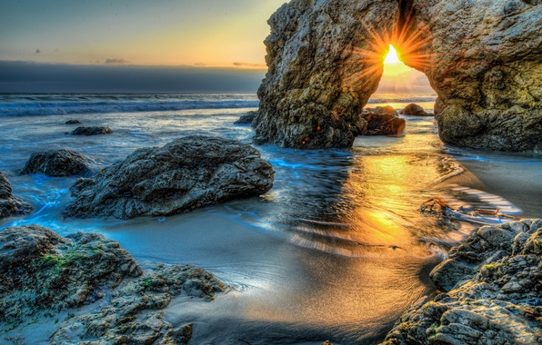 Picture storm, Pacific Ocean, Malibu