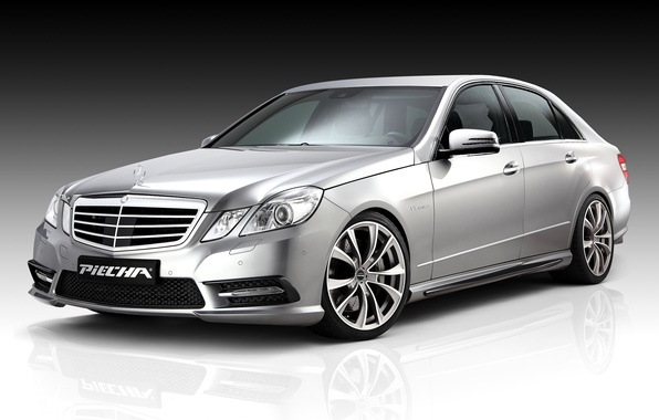 Photo wallpaper Mercedes-Benz, Mercedes, GT-R, 2013, W212, E 500, Piecha Design