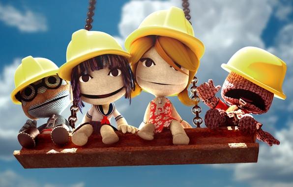Picture Men, Swing, Doll, Little Big Planet