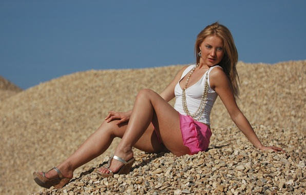 Picture Anna, Beauty, Russian Model, Summertime