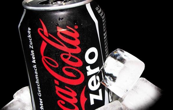Picture ice, drink, coca-cola, Coca Cola
