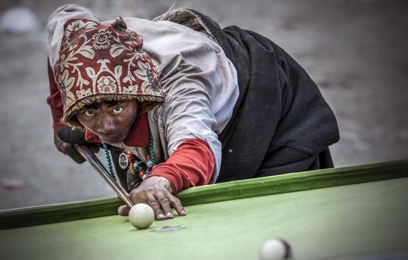 Picture sport, Billiards, Tibet
