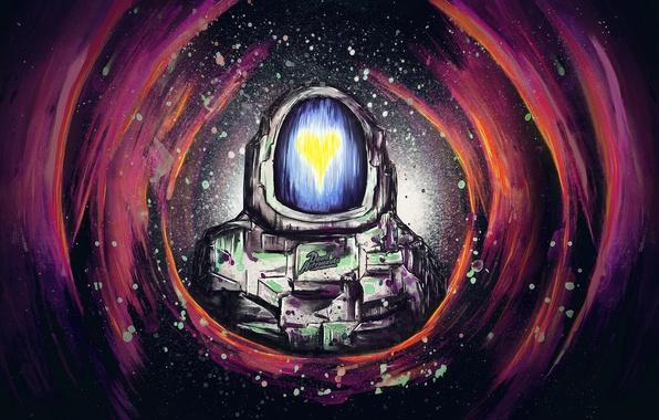Picture music, heart, group, art, dance, dead astronauts, atronaut