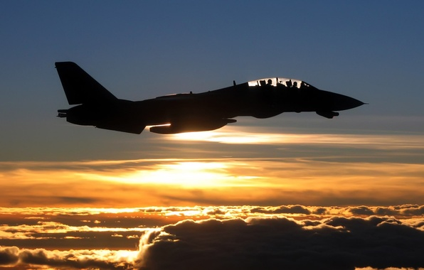 Picture the sky, clouds, flight, aviation, the plane, photo, background, Wallpaper, Fighter, picture, fly