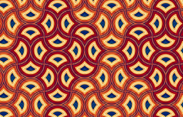 Picture line, background, pattern, figure, color, texture, ornament, figure