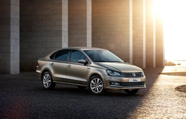 Picture Volkswagen, sedan, Volkswagen, Sedan, Polo, Polo, 2015, Type 6R