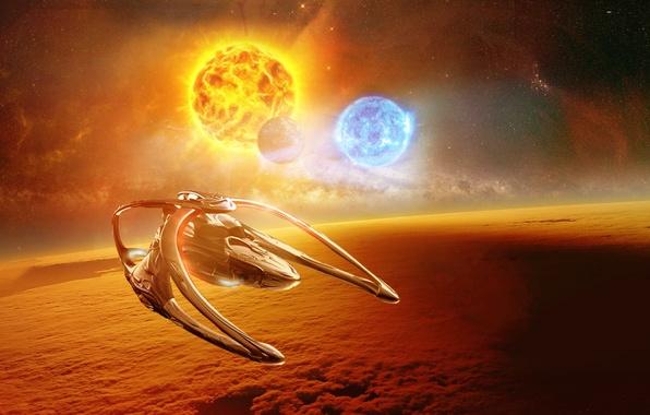 Picture Andromeda, Space, Sun, Ascendant