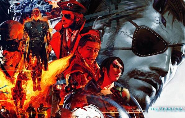 Picture metal gear solid, Snake, John, Jack, Konami, Kojima Productions, Naked Snake, Shalashaska, Revolver Ocelot, Adamska, …