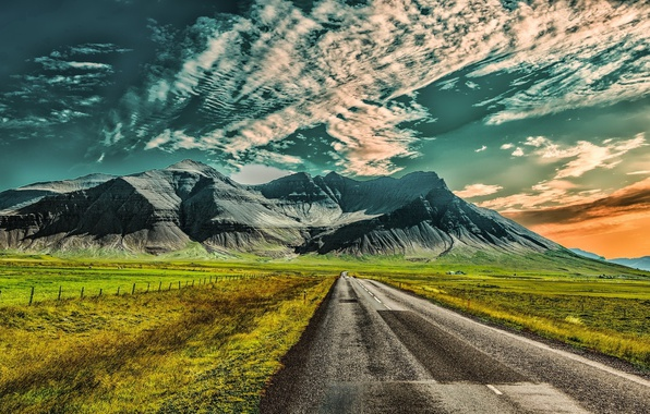 Iceland S Ring Road Wallpapers: Wallpaper Road, Iceland, Hafrafell Images For Desktop
