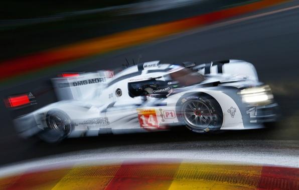 Picture race, the car, Spa, race, hybrid, Porsche 919