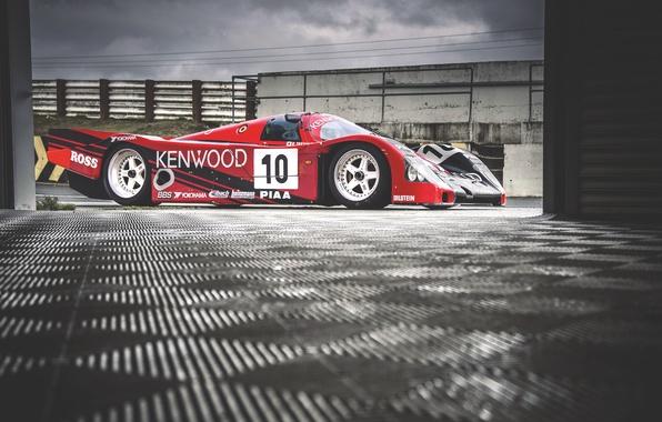 Picture race, the car, porsche, Porsche, race