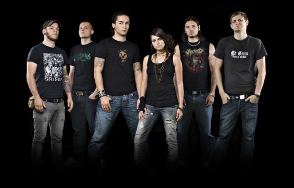 Picture melodic death metal, metalcore, MDM, Deadlock, death metal