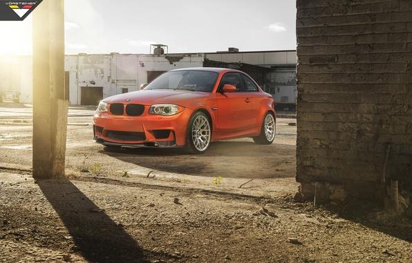 Picture machine, auto, Wallpaper, BMW, Vorsteiner, the front, 1 series, E82