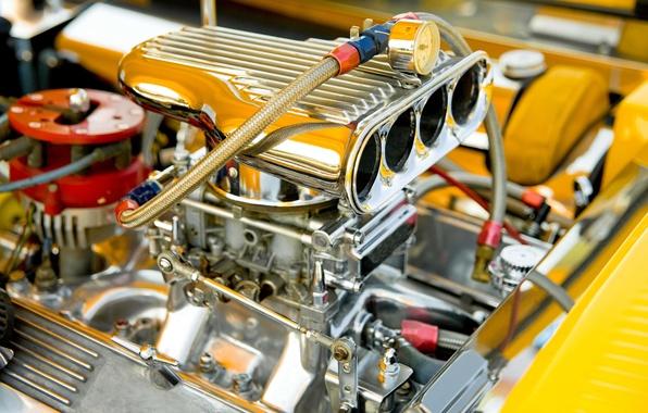 Picture machine, auto, macro, engine, blur, Parking, Parking, supercharger, car, engine, motor, the front, bokeh, engine, …