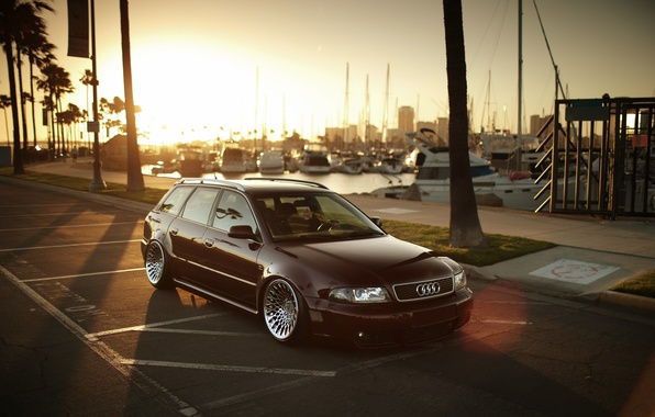Picture Audi, wagon, rs4, before