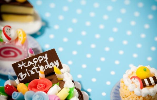 Picture birthday, cake, Happy, Birthday