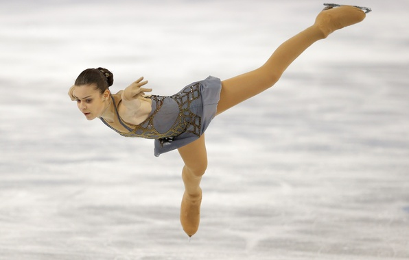 Picture ice, figure skating, Russia, Olympic champion, Sochi 2014, The XXII Winter Olympic Games, Sochi 2014, …