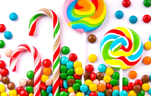 Picture colorful, candy, lollipops, sweet, candy